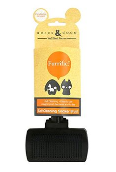 Rufus  Coco Slicker Pet Brush -- Check out this great product.(This is an Amazon affiliate link and I receive a commission for the sales)