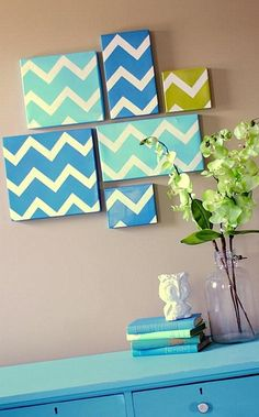 diy modern chevron art home decor wall art ideas olpos design country road large wall decals stickers appliques home decor