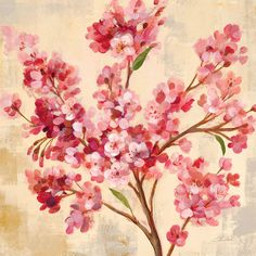 Masterpiece Art - April Cherry Branch, $51.00 (http://www.masterpieceart.com.au/april-cherry-branch/)