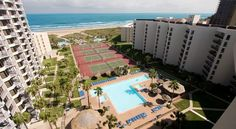 $144 Saida Condos offers 2-3 bedroom accommodations in South Padre Island.