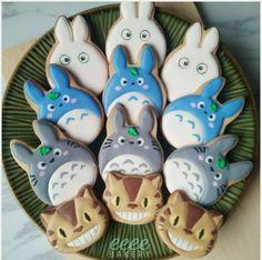 Fancy Cookies, Royal Icing Cookies, Sprite Cake, Disney Cookies, Icing Techniques, Galletas Cookies, Food Crafts, Cute Cakes, Cute Food