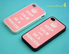 iphone 4 case - Keep Calm series, iphone 4 case, iphone 4S case in silicone,color in black or white ,plastic case also availble