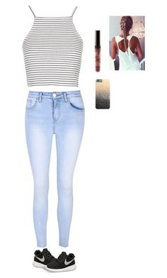 """😍😚😚😍😚😍😘😘"" by wildcalifornia2016 on Polyvore featuring moda, Glamorous, Topshop, NIKE y Kylie Cosmetics"