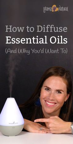 Using an essential oil diffuser is simple and wonderful way to practice aromatherapy. Learn how to diffuse essential oils in this post! http://www.mamanatural.com/how-to-diffuse-essential-oils/