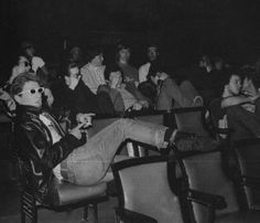 suicidewatch:    The Damned watching the infamous first Germs show in LA.