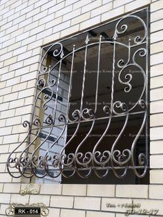 Burglar Bars, Window Grill Design, Metal Fab, Cable Railing, Iron Work, Front Elevation, Steampunk Fashion, Wrought Iron, Metal Working