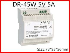 18.62$  Watch now - http://ali5jy.shopchina.info/go.php?t=1659837771 - DR-45-5 Din Rail Switching power supply 45W 5VDC 5A Output Free Shipping  #shopstyle