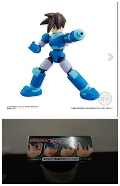 BANDAI 66 ACTION Mega Man Rockman Vol.1 Action Figure Mega Man Dash