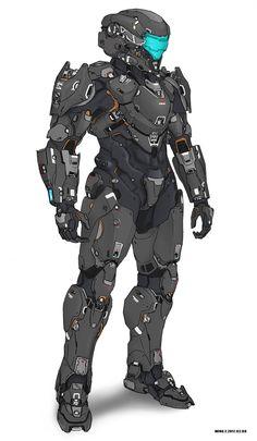 Sci Fi Suit