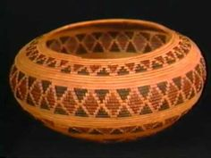 Native American Basket Weaving | Native American Baskets | Weaving and Textiles