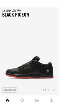 9064586a028f Pickup - Nike SB Dunk Black Pigeon