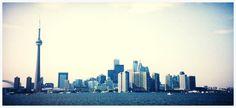 Silent Retro Sunday: Toronto skyline, 1995