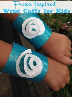 Frozen Themed Party Ideas- Princess Cuff #FrozenCraft