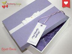Caixinhas personalizadas para o seu dia ficar ainda mais lindo! www.loveberrydesign.com