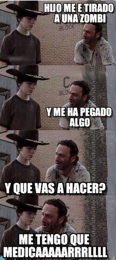 Jodas de the walking dead