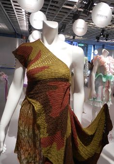 Ethnical jacquard, overlays of different patterns and colours.