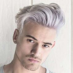 Dapper Haircuts For Men - Short Sides with Swept Hair