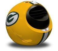 Our exclusive NFL Helmet Heater is a fun, exciting, stylish and easy to use infrared heating system equipped with an adjustable thermostat. Wood Stove Heater, Portable Heater, Infrared Heater, Nfl Packers, Nfl Shop, Football Fans, Heating Systems, Green Bay Packers, Soccer Ball