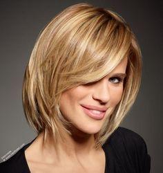 medium bob haircut. Love this. Just getting ideas!! =)