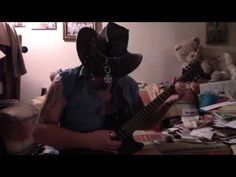 Forging Metal on my Black Death Les Paul and firing lasers at the AXE!
