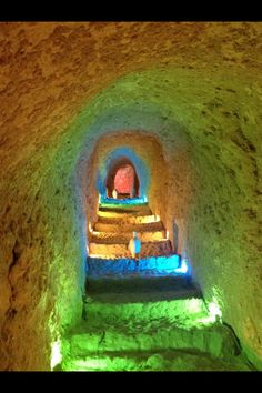Underground, Kish island, Persian Gulf /Iran