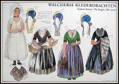 ateljee de Kraal: Walcherse kinderdrachten plaat..