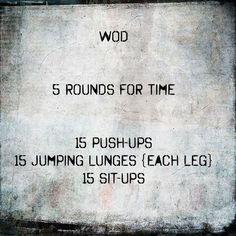 #wod #crossfit #workout