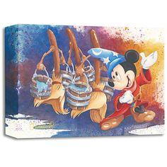 Mickey Mouse '' de marzo mágico '' Giclée de Michelle St. Laurent