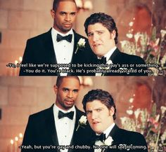 Happy Endings ~ Happy Endings ~ Quotes ~ Season Episode Pilot Laugh Till You Cry, Laugh Out Loud, Happy Endings Tv Show, Really Funny, The Funny, Funny Pics, Pilot, Tv Show Quotes, Music Tv