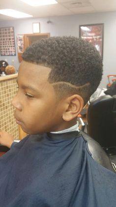Kids cut with curlsponge finish