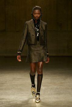 The Style Examiner: Meadham Kirchhoff Womenswear Autumn/Winter 2013 #socks