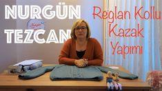 Nurgün Tezcan | Reglan Kollu Çocuk ve Yetişkin Kazağı