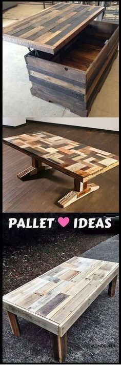 200 Ways To Recycle Wooden Pallets Great for The Home Great Resellers Watch The Video For All These Furniture Ideas: http://vid.staged.com/L4Qs