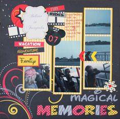 Layout: Magical Memories **Moxxie**