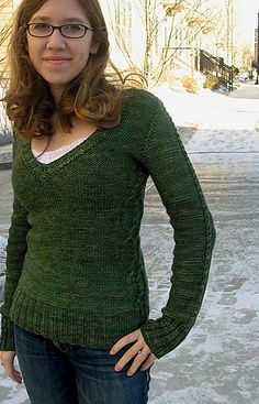 Ravelry: Evergreen - CustomFit Recipe knitting pattern by Mollie Woodworth