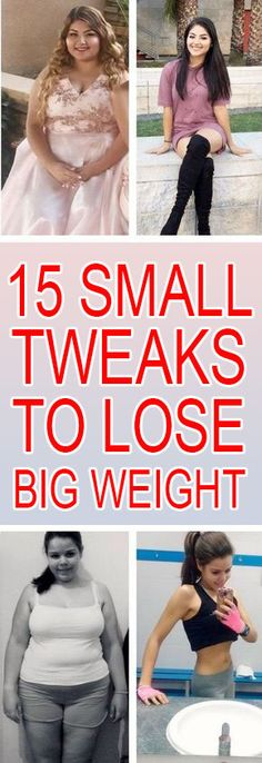 15 Smallest Changes To Biggest Weight Loss   Health Tips Academy