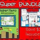 SUPER BUNDLE-Super Silent E & Super hero Math and Literacy