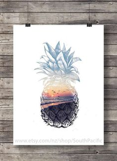 Image de art, drawing, and pineapple