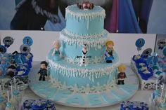 Festa Frozen - Bolos(Cakes), Cupcakes e Doces - #3 - Doce Mel Doces
