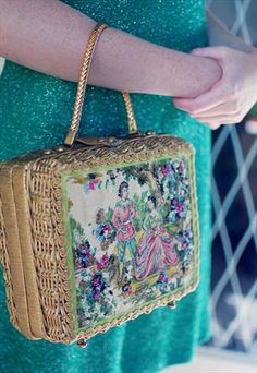 American retro 50's kitsch bag