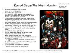 The 8th legion Primarch... Konrad Curze the Night Haunter of the Night Lords.