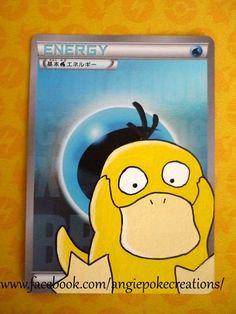 Peinture Pokemon Psykokwak sur énergie Eau Brillante :)
