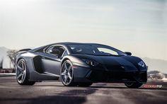 italian cars, Lamborghini Aventador, LP700-4, tuning, supercars, gray Aventador, Lamborghini