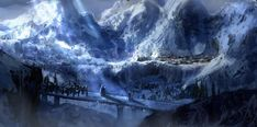 Ered Luin - The Blue Mountains