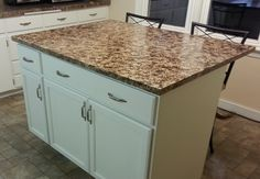 Build your own kitchen island for less than $500