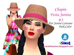 Sims 4 Mods, Superstar, The Sims 4 Packs, 3 Hat, Gta, Pink Color, Costumes, Fashion, Women's Clothes