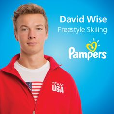 Pampers Athlete David Wise