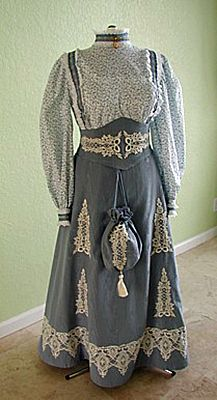Truly Victorian :: Belle Epoche Patterns - 1890's :: 1890's Victorian Corselets