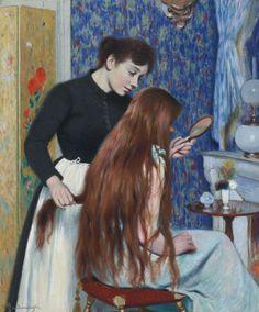 La coiffure - Federico Zandomeneghi   Eva's blog