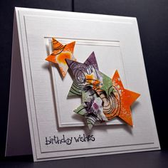 Eileen's Crafty Zone: Nestabilities Stars and Distress Inks
